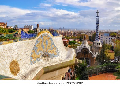 Parc Guell Barcelona Spain