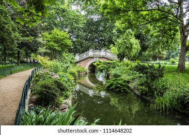 Parc Monceau (1778) is a public park located in the 8th arrondissement of Paris, France. Park Monceau contains wonderful surprises: statues, Renaissance arch, bridges, pond and rich vegetation.