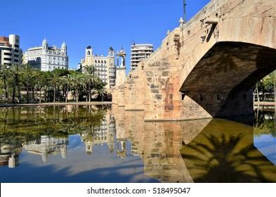 parc turia in Valencia