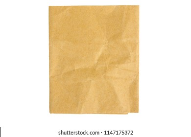 Parchment paper is isolated