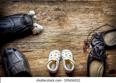 Parent and child shoes - Squabble