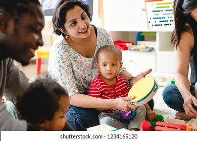Parents join their childs learning club
