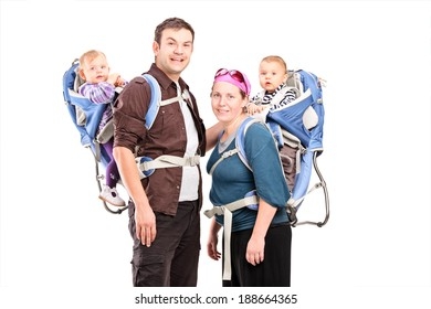 Baby Carriers Back Images Stock Photos Vectors Shutterstock
