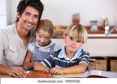 Parents with young children
