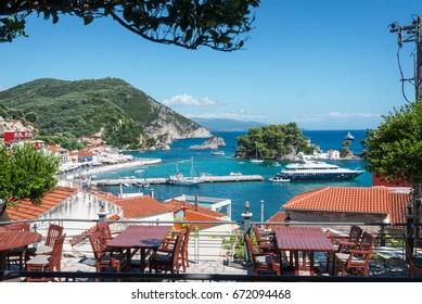 Parga town in Greece