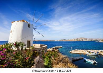 Parikia town, Paros island, Cyclades, Greece