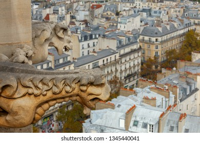 Paris. Aerial view of the city.