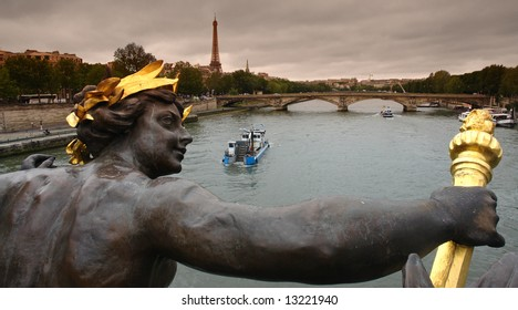 Paris alexandre 3 bridge