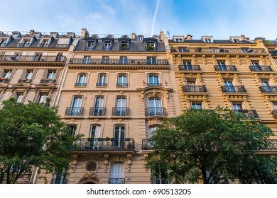 Paris Apartments on a beautiful day