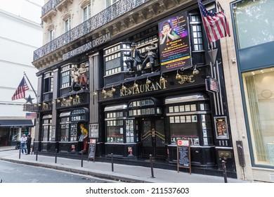 Paris France October 03 2016 American Dream Stock Photo (Edit Now ...