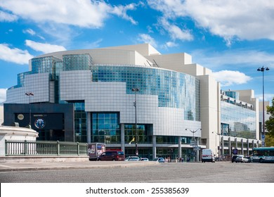 Paris, August 24, 2011: Bastille Opera House was designed by Uruguayan architect Carlos Ott,  Paris, France