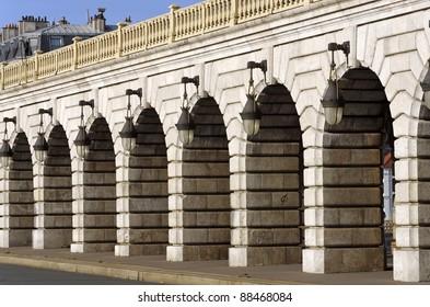 Paris, bercy bridge