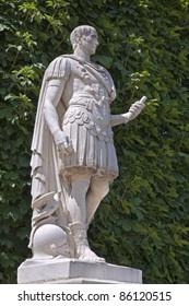 Paris - Caesar statue from Tuileries garden