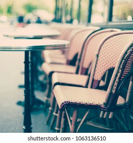 Paris Cafe tables and chairs