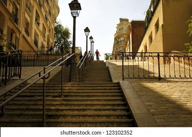 Paris. Capitol of France. Montmartre