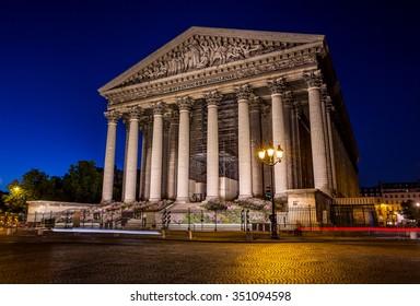 Paris church of La Madeleine, France