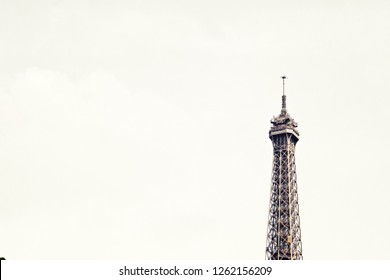 Paris city, streets and buildings