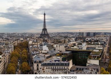 The Paris City View