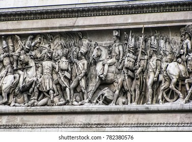 Paris, France - 05/10/2010 - Paris, France - Arc De Triomphe Frieze