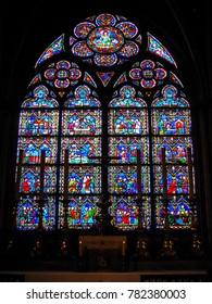 Paris, France - 05/10/2010 - Paris, France - Notre Dame Side Chapel
