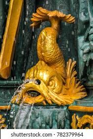 Paris, France - 05/10/2010 - Paris, France - Place de La Concord Fountain Detail