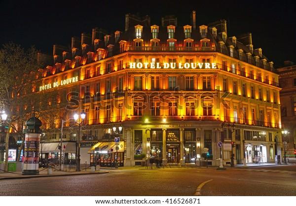 Paris France 11 April 2016 Historic Stock Photo (Edit Now