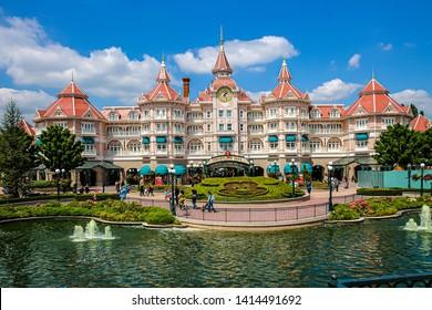 Paris, France - 16.05.2016: Disneyland Resort Paris Hotel