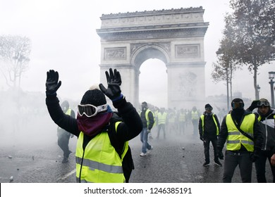 Paris, France.  1st December 2018. 