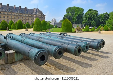 PARIS, FRANCE -24 may 2018  Les Invalides, The National Residence of the Invalids and Army Museum in Paris, France