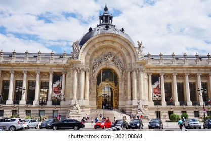 PARIS, FRANCE -28 JULY 2015- Built for the 1900 World Exhibition, the Petit Palais is today one of the fourteen museums managed directly by the city of Paris.