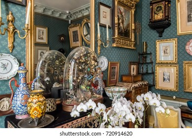 """Paris, France, 3 august 2017 """"Musée national Gustave Moreau"""" art museum dedicated to the works of Symbolist painter Gustave Moreau (1826–1898)"""