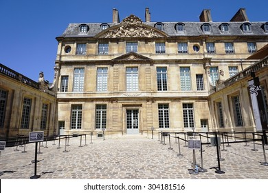 PARIS, FRANCE -8 JULY 2015- The Musee Picasso museum, located in the Hotel Sale in the Marais area of Paris, reopened in 2014 after a five year closure.