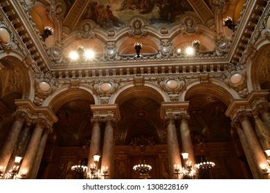 Paris; France - august 4 2018 : the Opera de Paris