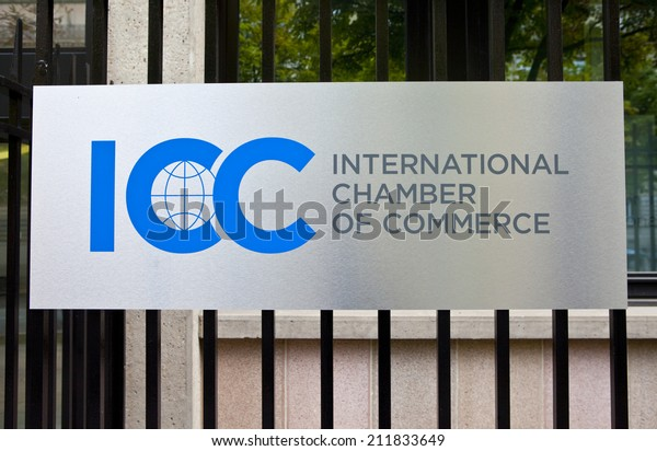 PARIS, FRANCE - AUGUST 9TH 2014: The headquarters of the International Chamber of Commerce in Paris on the 9th August 2014.