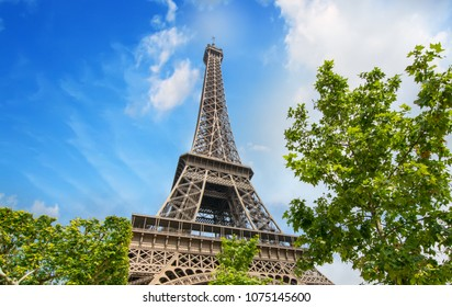 Paris, France. City landmarks in summer season.