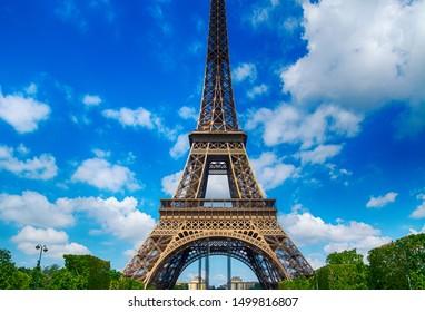 Paris, France. City landmarks in summer season.