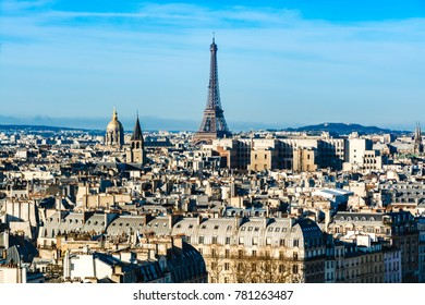 Paris, France: Cityscape with the Eiffel Tower