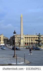 PARIS, FRANCE - DEC 26, 2012 - Paris, France. Place de la Concorde