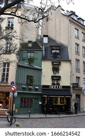 PARIS, FRANCE, December 22, 2019: The famous Patisserie Odette in the Latin Quarter in Paris