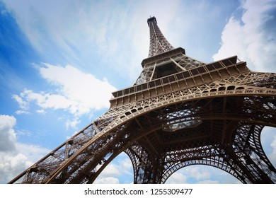 Paris, France - Eiffel Tower. UNESCO World Heritage Site.