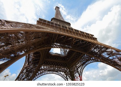 Paris, France - the Eiffel Tower. World landmarks.