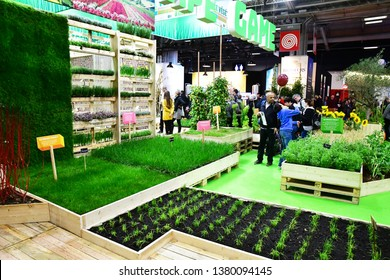 Paris; France - february 24 2019 : the Paris International agricultural show, the largest and important one in Europe
