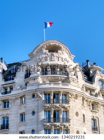 Paris France February 25 2019 Hotel Stock Photo Edit Now