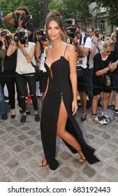 PARIS, FRANCE - JULY 04:  Emily Ratajkowski  attends Vogue Foundation Dinner  as part of Paris Fashion Week  Haute Couture Fall/Winter 2017-2018 July 4, 2017  Paris, France