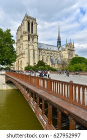 PARIS, FRANCE - JULY 05,2012: Notre Dame Cathedral