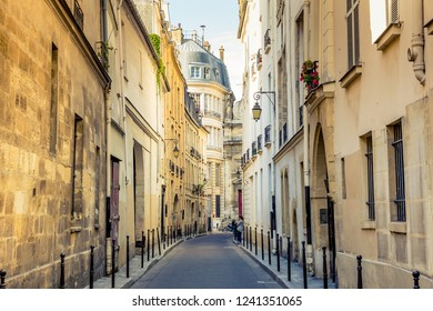 Paris, France - July 19,2016- street in Paris