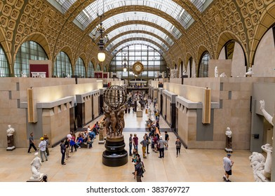 Paris, France, July 24.2015-Orsay museum in Paris