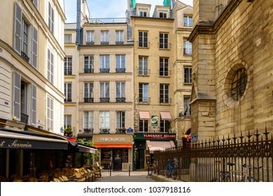 PARIS, FRANCE - JULY 28, 2017: Architecture of Paris, the capital of France