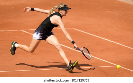 PARIS, FRANCE - JUNE 1 : Eugenie Bouchard at the 2017 Roland Garros Grand Slam tennis tournament