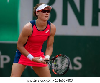 PARIS, FRANCE - JUNE 2 : Samantha Stosur at the 2017 Roland Garros Grand Slam tennis tournament
